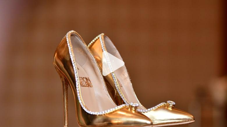 دبي تعرض أغلى حذاء للبيع في العالم بـ17 مليون دولار