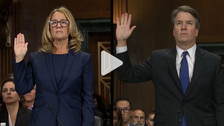 شهادتا فورد ومرشح ترامب للمحكمة العليا بشأن الاعتداء جنسي