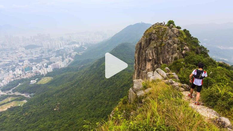 صخرة الأسد.. هذه هي وجهة التسلق والتحدي العقلي في هونغ كونغ