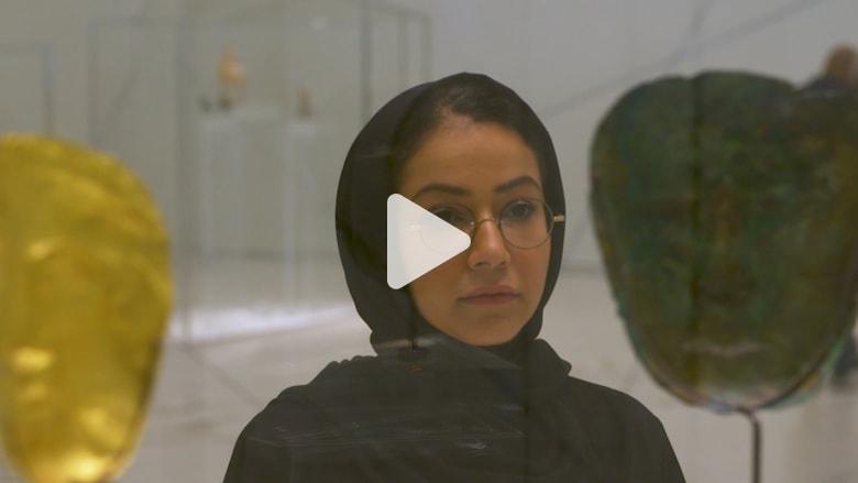 جولة في متحف اللوفر أبو ظبي مع الفنانة آلاء ادريس