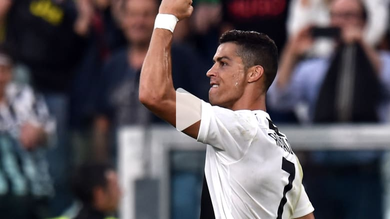 رونالدو أول لاعب يصل للهدف رقم 400 في الدوريات الأوروبية