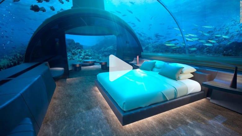 احجز غرفتك في أول فندق تحت الماء في العالم