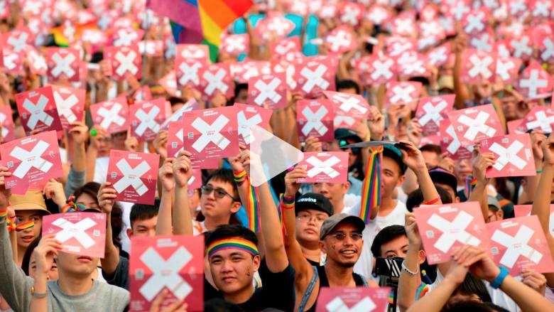 تايوان تصوت ضد زواج المثليين
