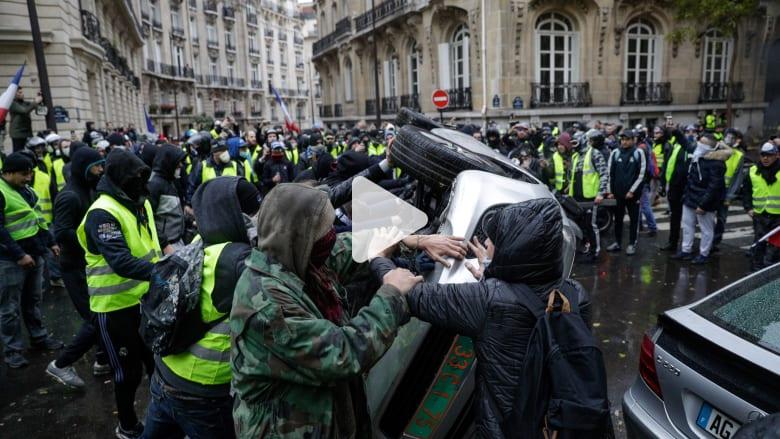 """كيف تأثر اقتصاد فرنسا بتظاهرات """"السترات الصفراء""""؟"""