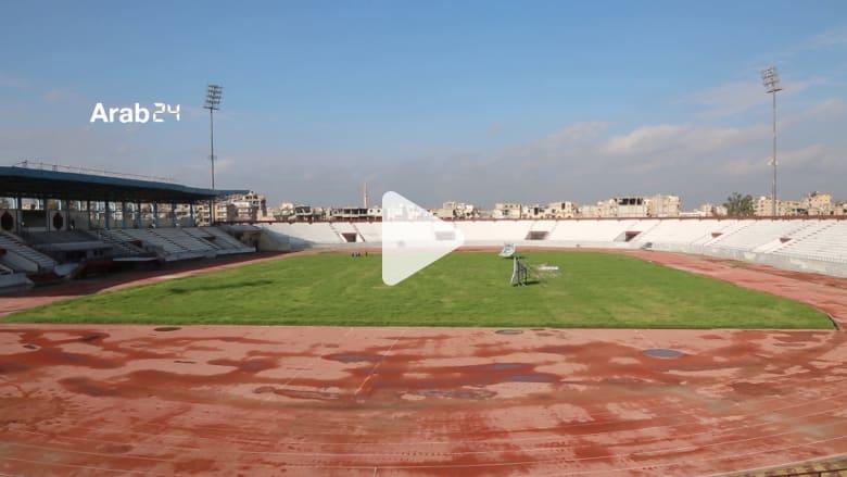ملعب داعش الأسود يعود للحياة في مدينة الرقة السورية