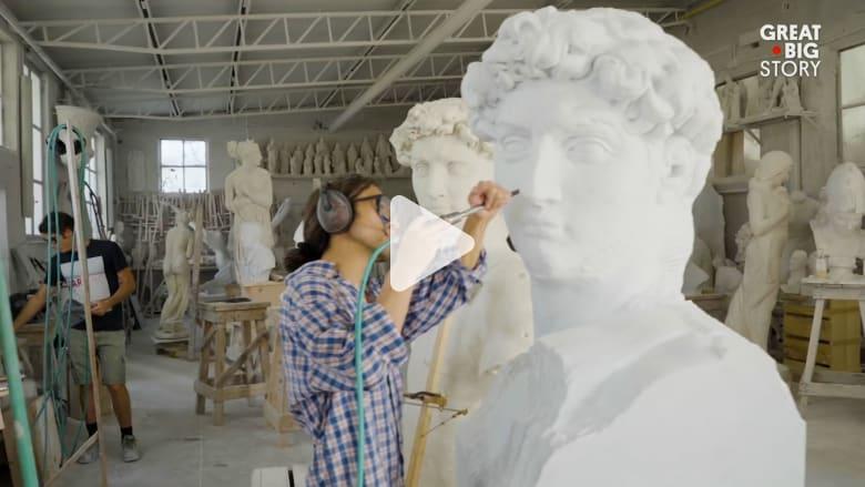 اكتشف المدينة التي وجد فيها الفنان مايكل أنجلو رخام أحلامه