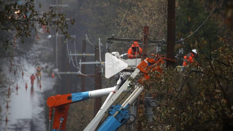 كيف تسببت حرائق الغابات في إفلاس أكبر شركات الطاقة بكاليفورن