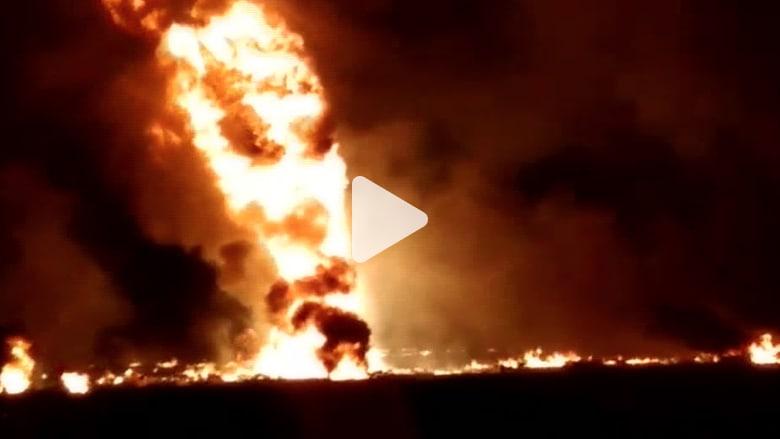 """حصيلة انفجار """"رهيب"""" لخط أنابيب في المكسيك تقفز إلى 66 شخصا"""