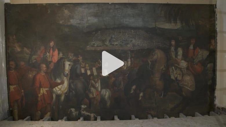 لغز يلف لوحة من القرن الـ17 عثر عليها مخبأة خلف جدار بباريس
