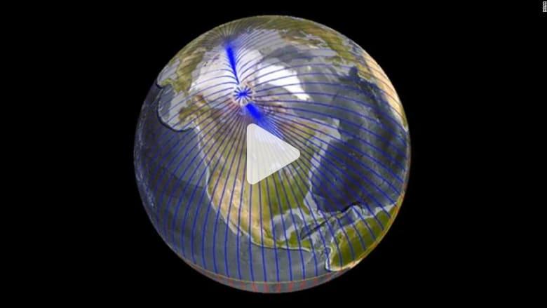 تحذير من انحراف القطب المغناطيسي الشمالي للأرض