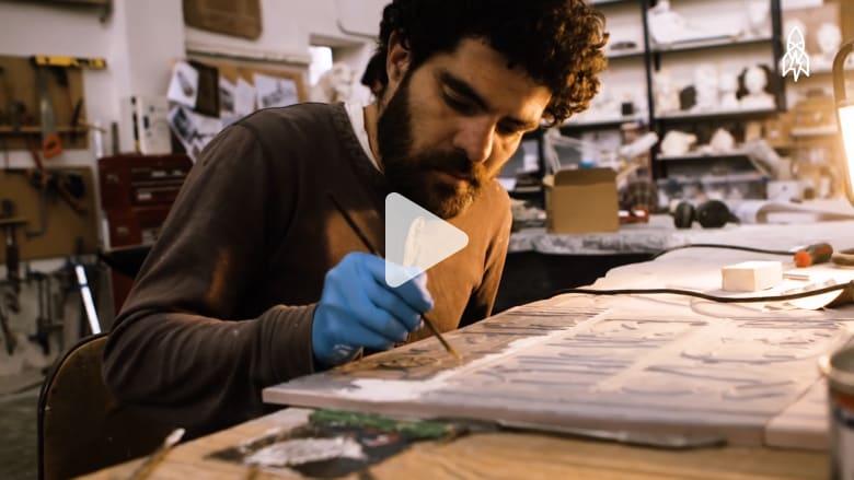 شركة تصنع نسخاً مثالية من قطع فنية مشهورة عبر التاريخ