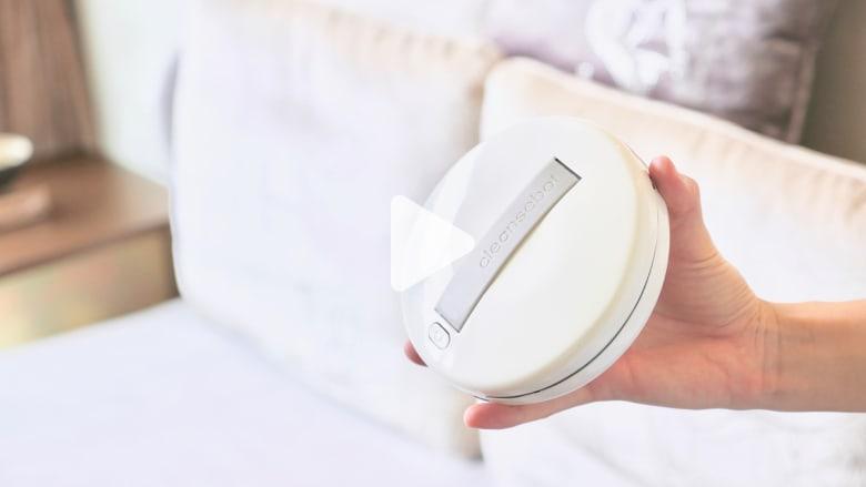 هل تخشى جراثيم الغرف الفندقية؟ هذا الجهاز يساعدك في تطهيرها