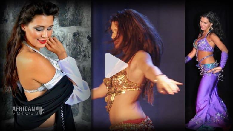 أمينة علي.. راقصة تونسية من أم نرويجية وتعشق الرقص الشرقي