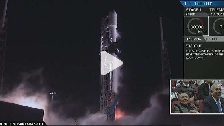 رابع دولة في التاريخ.. لحظة إطلاق مركبة فضاء إسرائيلية للقمر