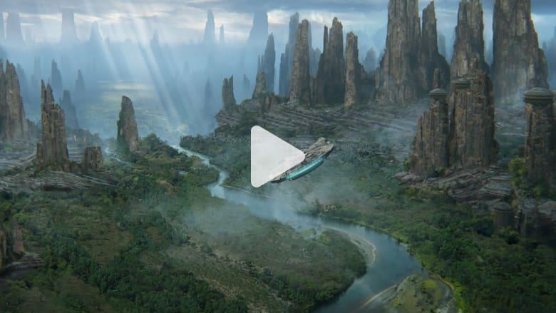 """من الخيال إلى الواقع.. ألق نظرة داخل أرض """"حرب النجوم"""""""