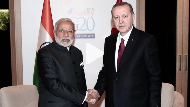 ترامب ينهي المعاملة التجارية الخاصة مع الهند وتركيا