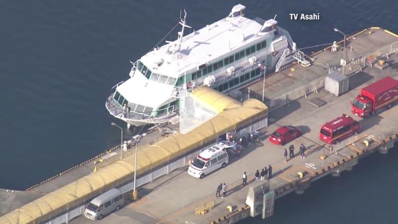 """إصابة أكثر من 80 شخصا باليابان بعد اصطدام مركب """"بمخلوق بحري"""""""