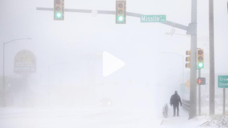 """شاهد ما فعله """"الإعصار القنبلة"""" في ولاية كولورادو"""