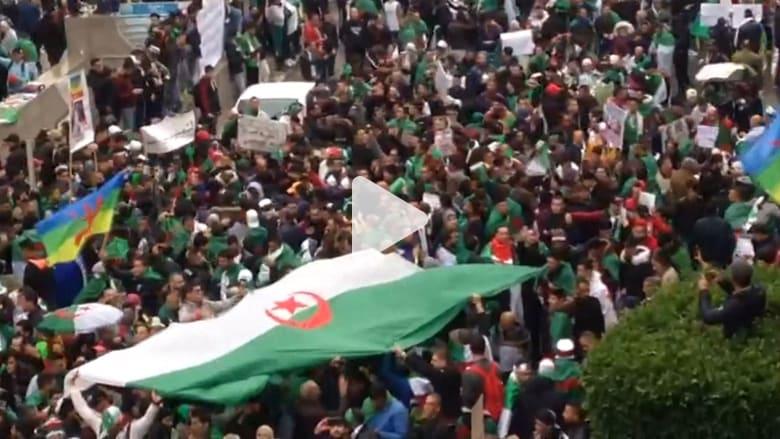 تواصل الاحتجاجات بالجزائر ضد بوتفليقة وتمديد الولاية الرابعة