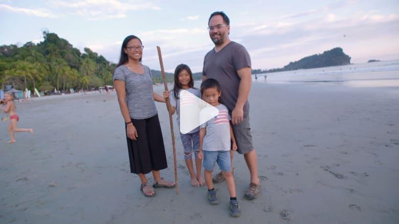 من واشنطن إلى إندونيسيا..تجربة عائلة سافرت حول العالم