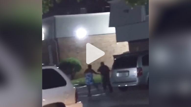 كاميرا هاتف ترصد لحظة قتل الشرطة الأمريكية لإمرأة حامل