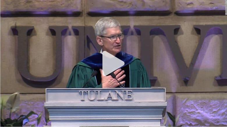 رئيس آبل التنفيذي يلقي خطابا عن تغير المناخ: جيلنا خذلكم