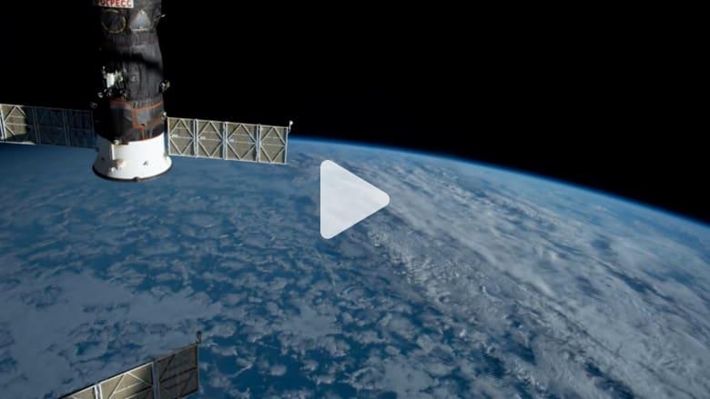 لقطات مذهلة بتصوير رائد فضاء للأرض بتقنية الفاصل الزمني