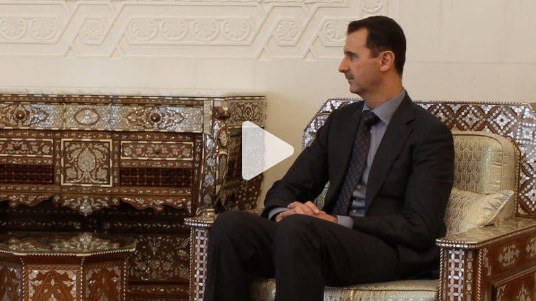"""""""الرئاسة السورية"""" تنشر صورة نادرة لبشار الأسد"""