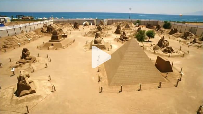أهرام مصر على شواطئ تركيا ضمن عجائب الدنيا السبع