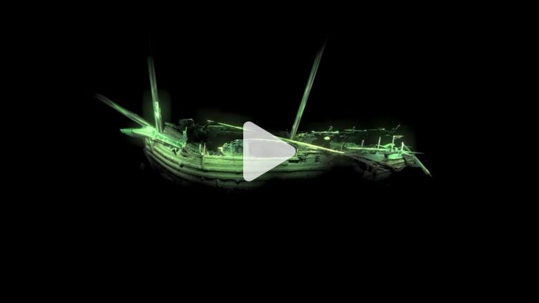 كاميرات آلية تكشف عن حطام سفينة من عصر النهضة