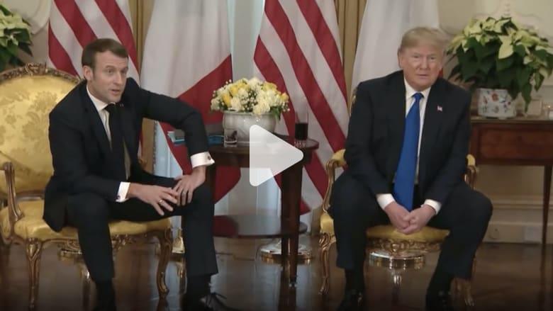 ترامب ساخرا لماكرون: يمكنك أخذ من تريد من مقاتلي داعش