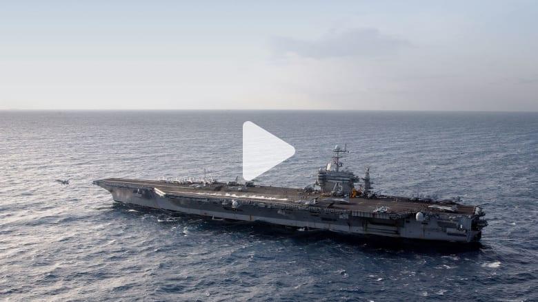 """10 معلومات عن حاملة الطائرات الأمريكية """"يو إس إس هاري ترومان"""""""