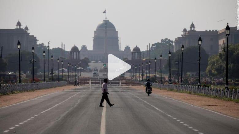"""فيروس كورونا.. 1.3 مليار نسمة في الهند يواجهون """"الإغلاق التام"""" تدريجيًا"""