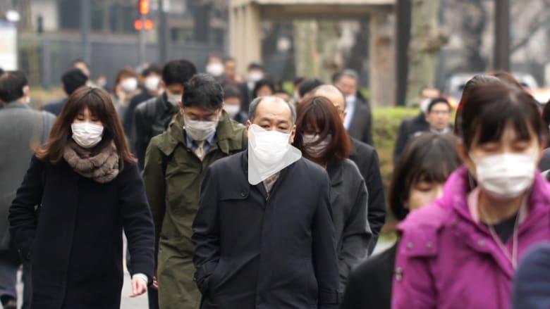 حالات العدوى بفيروس كورونا في طوكيو في تصاعد سريع