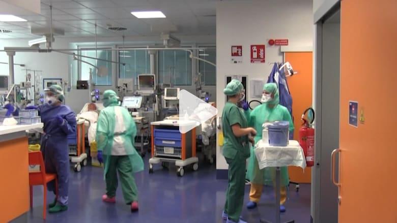 نداء من الحكومة الإيطالية لـ300 طبيب للمساعدة واستجابة ما يقرب من 7 آلاف