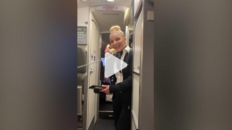 مسافرة تتلقى مفاجأة كونها الوحيدة على متن رحلة جوية