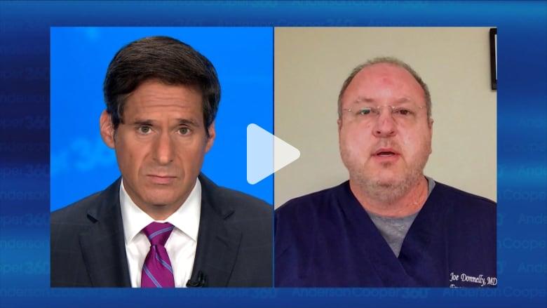 طبيب أمريكي يصف محاولته إنعاش مريضة بفيروس كورونا في موقف سيارات