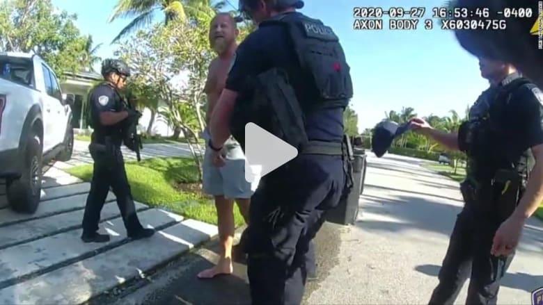 الشرطة تنشر فيديو يوثق لحظة احتجاز مدير حملات ترامب.. ماذا فعل؟