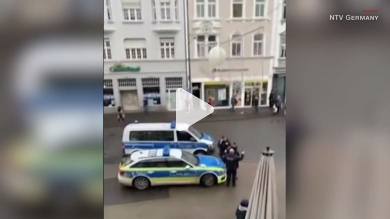 شاهد.. اللحظات الأولى بعد حادثة الدهس في ألمانيا