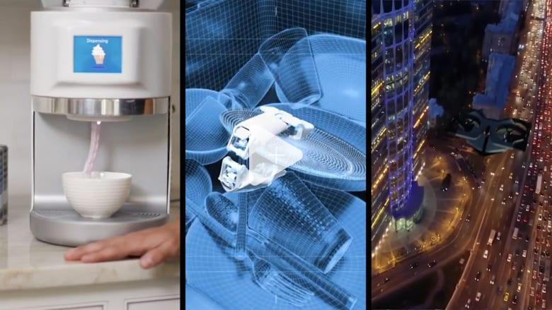 """هاتف """"يتقلص"""" وسيارة كاديلاك طائرة.. شاهد أبرز صيحات التكنولوجيا في 2021"""