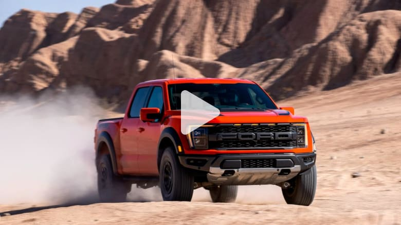 Watch ... the new Ford Raptor is designed to go fast on rough terrain