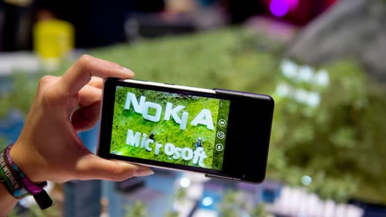 الشراكة بين نوكيا ومايكروسوفت