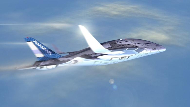 6 صور لأكثر تصميم مثير لطائرة المستقبل