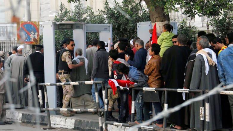 بالصور.. اشتباكات بمصر في الذكرى الثالثة للثورة