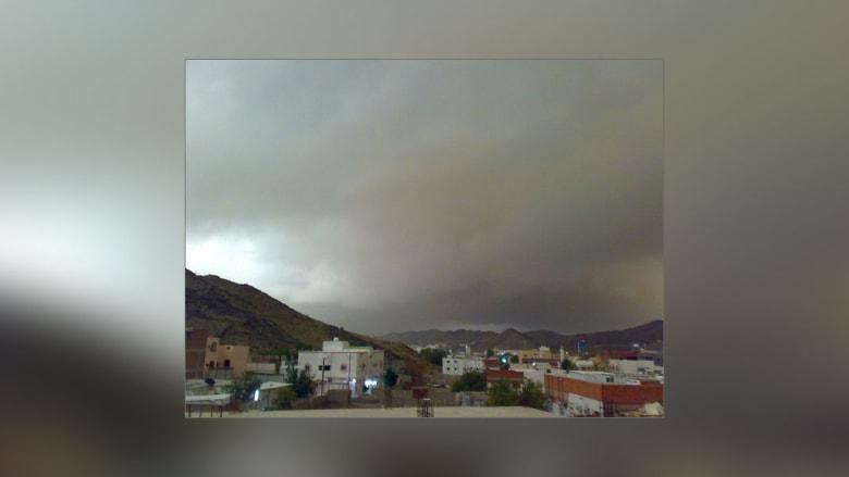 أجواء ماطرة تلف سماء السعودية