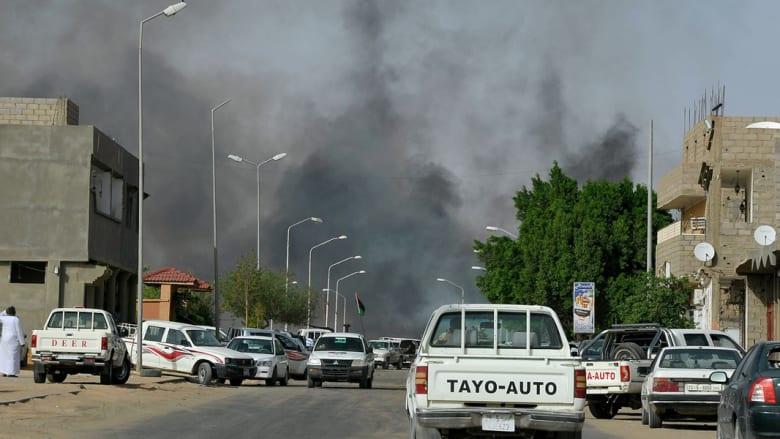 الجيش الليبي يؤكد انتزاع قاعدة تمنهنت الجوية من قبضة أنصار القذافي
