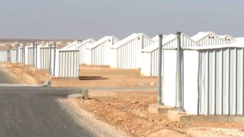 انتهاء بناء مخيم الأزرق للاجئين بالأردن