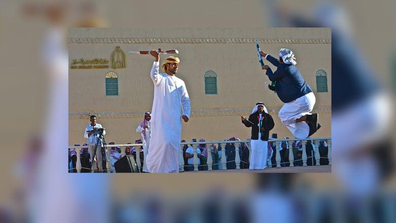 الإمارات بمهرجان الجنادرية .. صقور وعروض مختلفة تعكس حياة البداوة