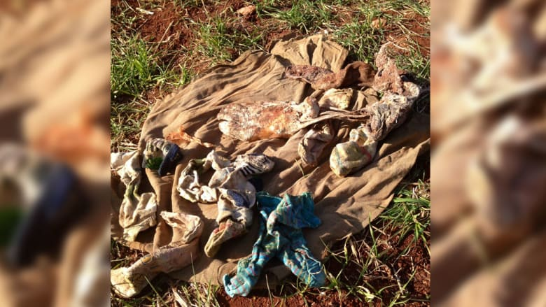 جثث متآكلة ومقابر جماعية ببلدة الدانا