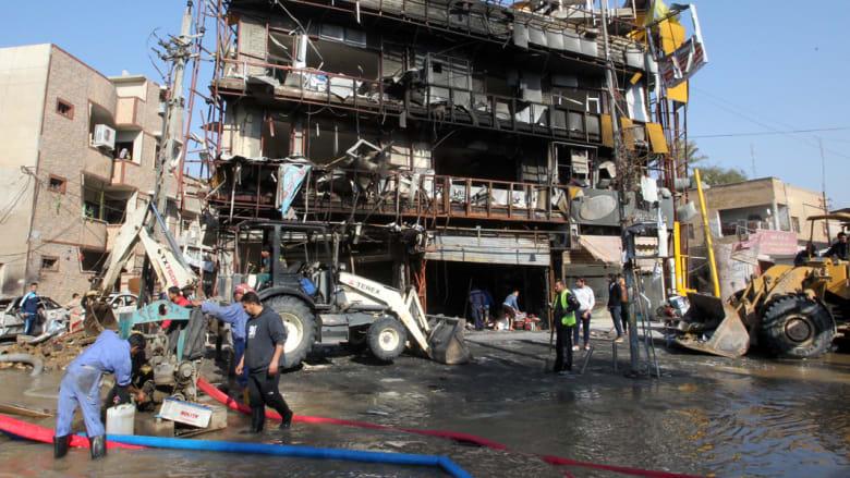 عشرات الضحايا في هجوم صاروخي على سوق بالعراق